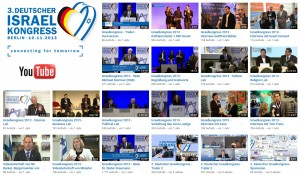 Video Streams Deutscher Israelkongress 2013